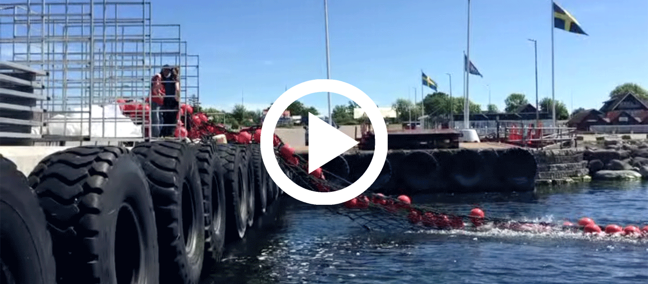 Video: launching the Kalmarsound mussel farm