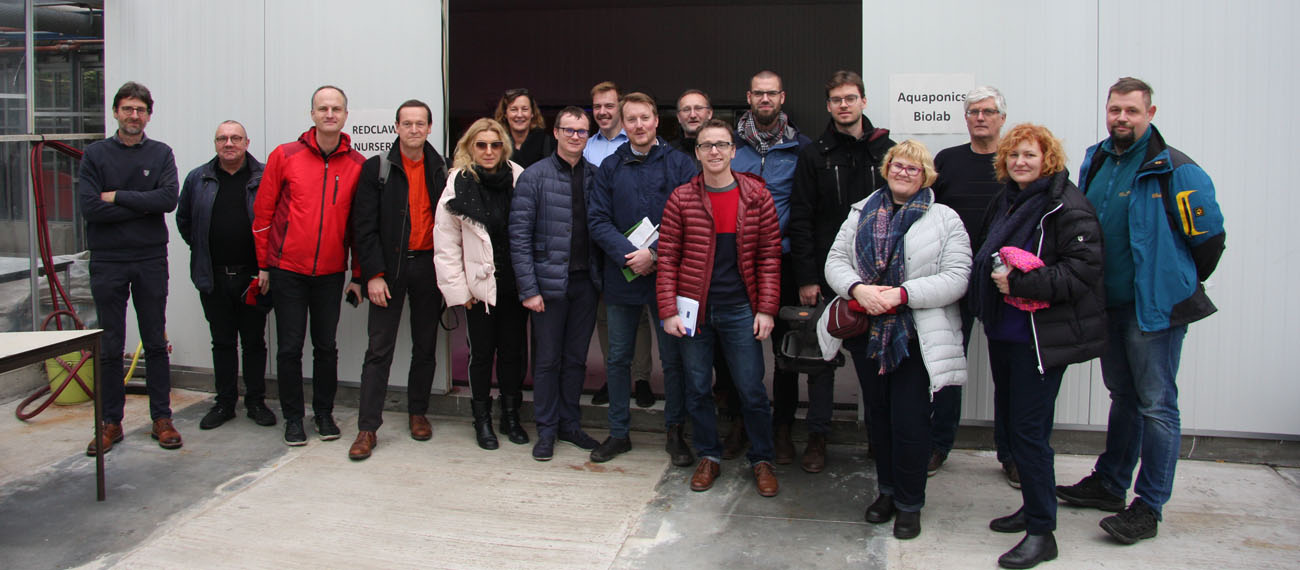 InnoAquaTech Study Visit to Belgium – a breath of fresh air for European aquaculture