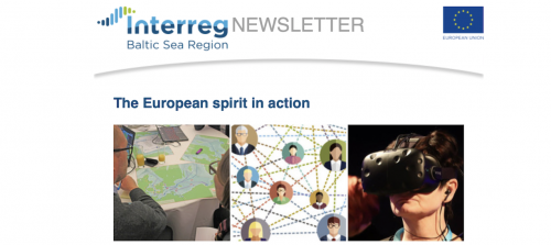 BBG featured in the latest edition of the Interreg BSR newsletter