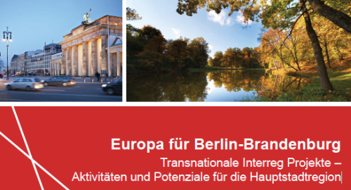 5 SUBMARINER projects featured in brochure 'Transnational Interreg projects in the capital region of Berlin-Brandenburg (Germany)'